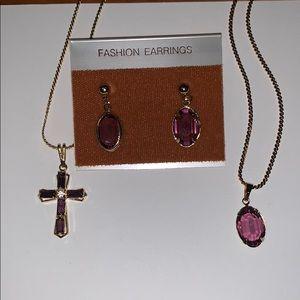Vintage fashion jewelry set
